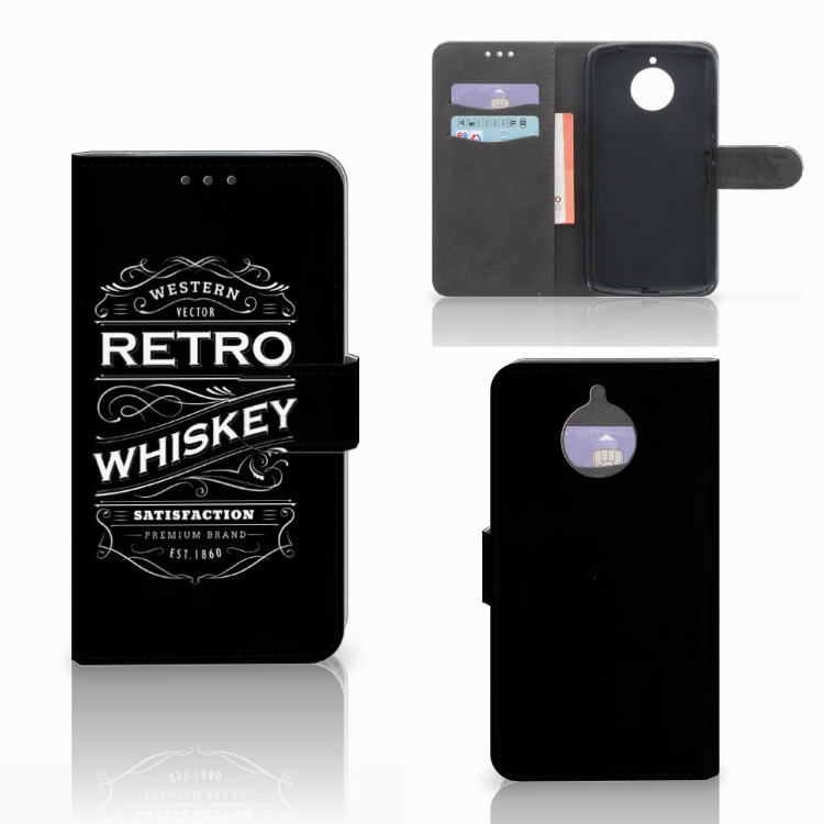 Motorola Moto E4 Plus Book Cover Whiskey