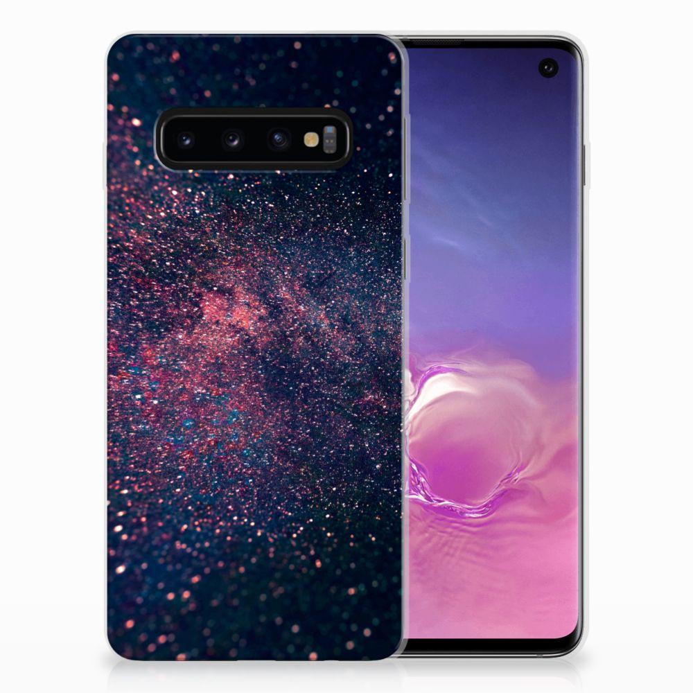 Samsung Galaxy S10 TPU Hoesje Stars