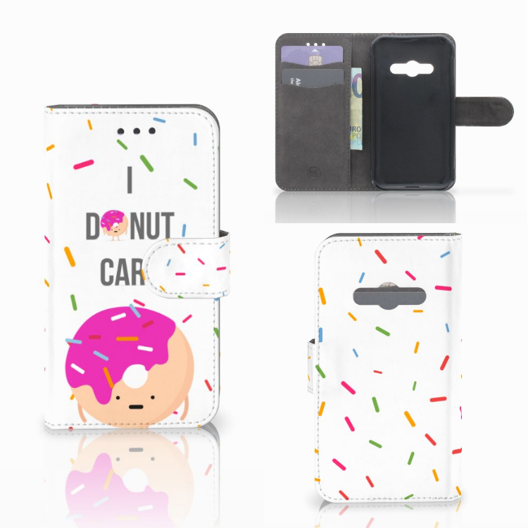 Samsung Galaxy Xcover 3 | Xcover 3 VE Book Cover Donut Roze
