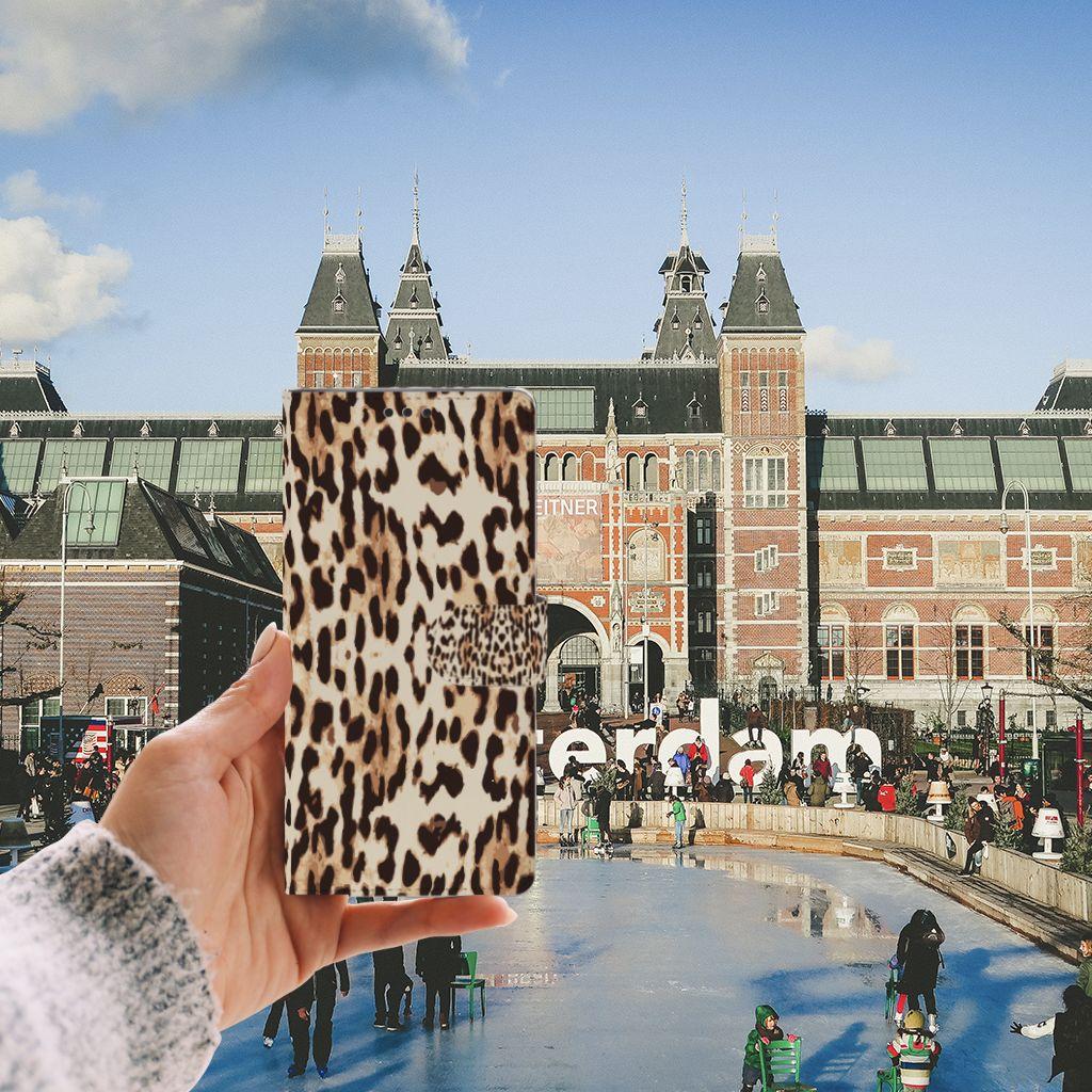 Sony Xperia XA Ultra Uniek Boekhoesje Leopard