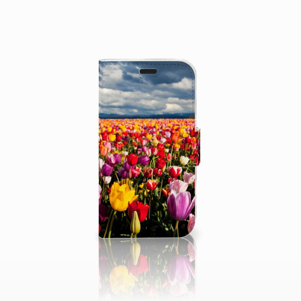 LG L Fino Uniek Boekhoesje Tulpen