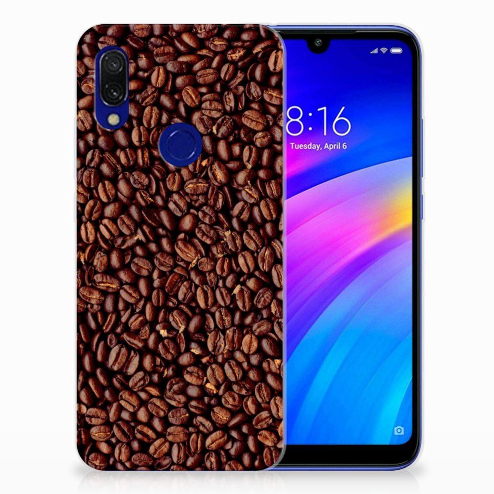 Xiaomi Redmi 7 Siliconen Case Koffiebonen
