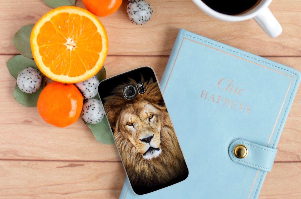 Samsung Galaxy S7 Edge Leuk Hoesje Leeuw