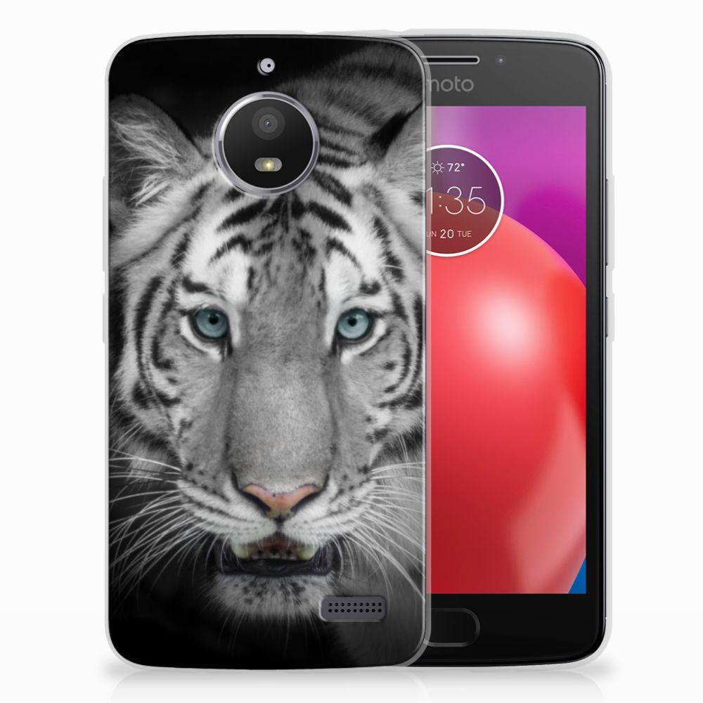 Motorola Moto E4 Uniek TPU Hoesje Tijger