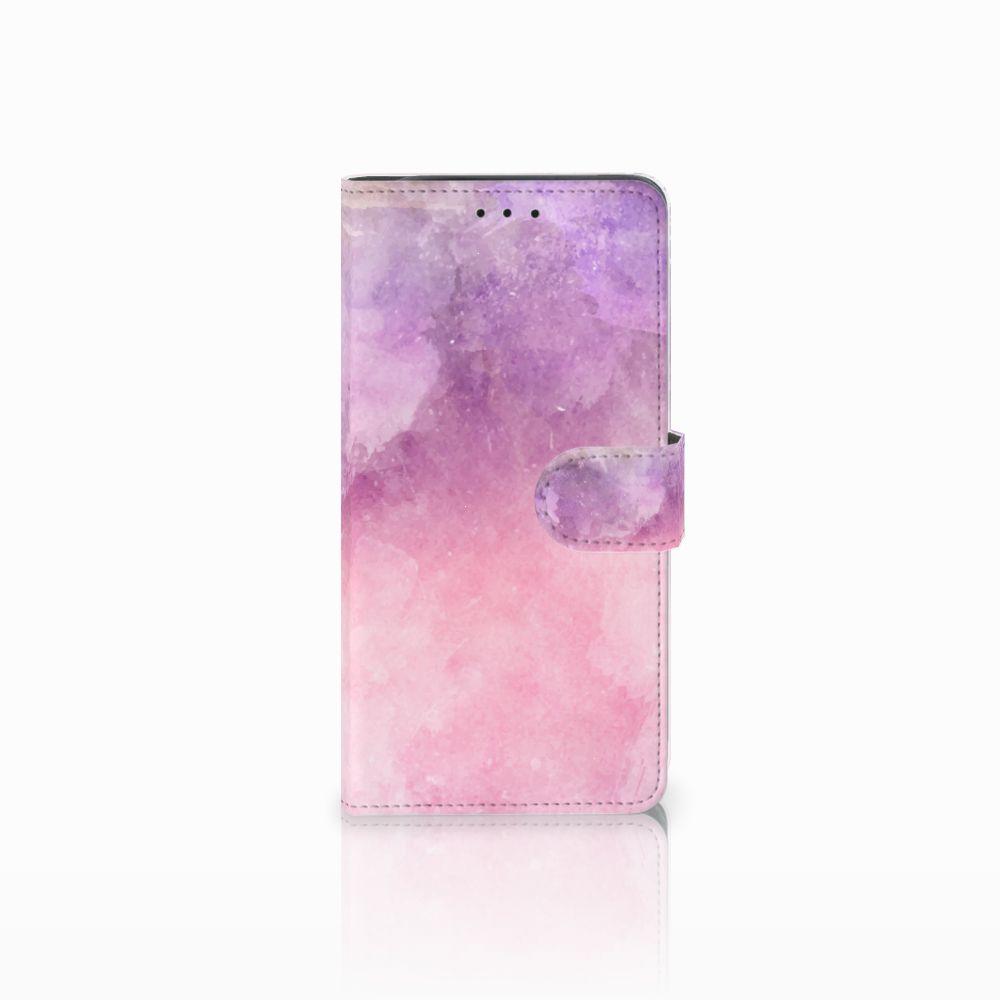 Hoesje Samsung Galaxy J6 Plus (2018) Pink Purple Paint