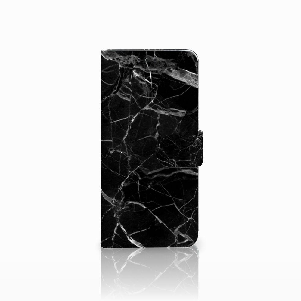 Huawei Nova 4 Uniek Boekhoesje Marmer Zwart