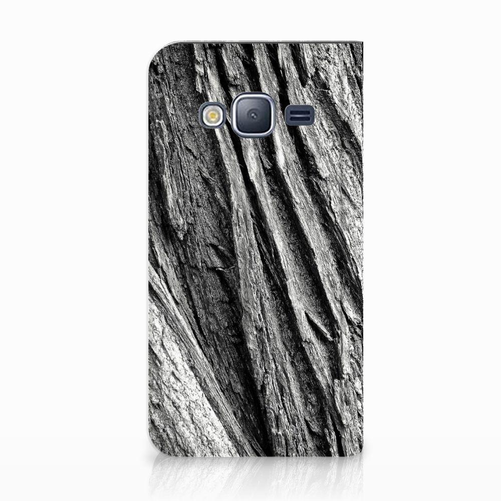 Samsung Galaxy J3 2016 Uniek Standcase Hoesje Boomschors