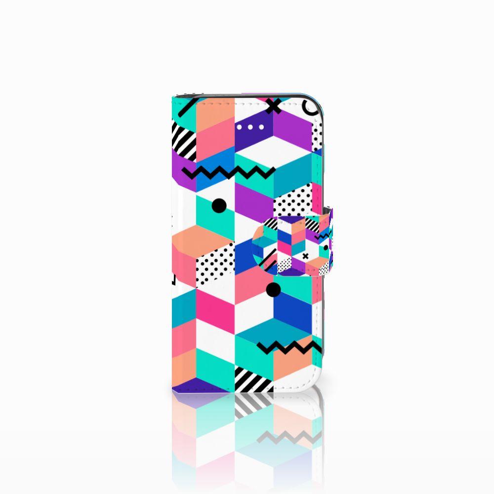 Apple iPhone 5 | 5s | SE Bookcase Blokken Kleurrijk