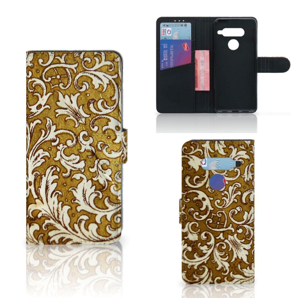 Wallet Case LG V40 Thinq Barok Goud