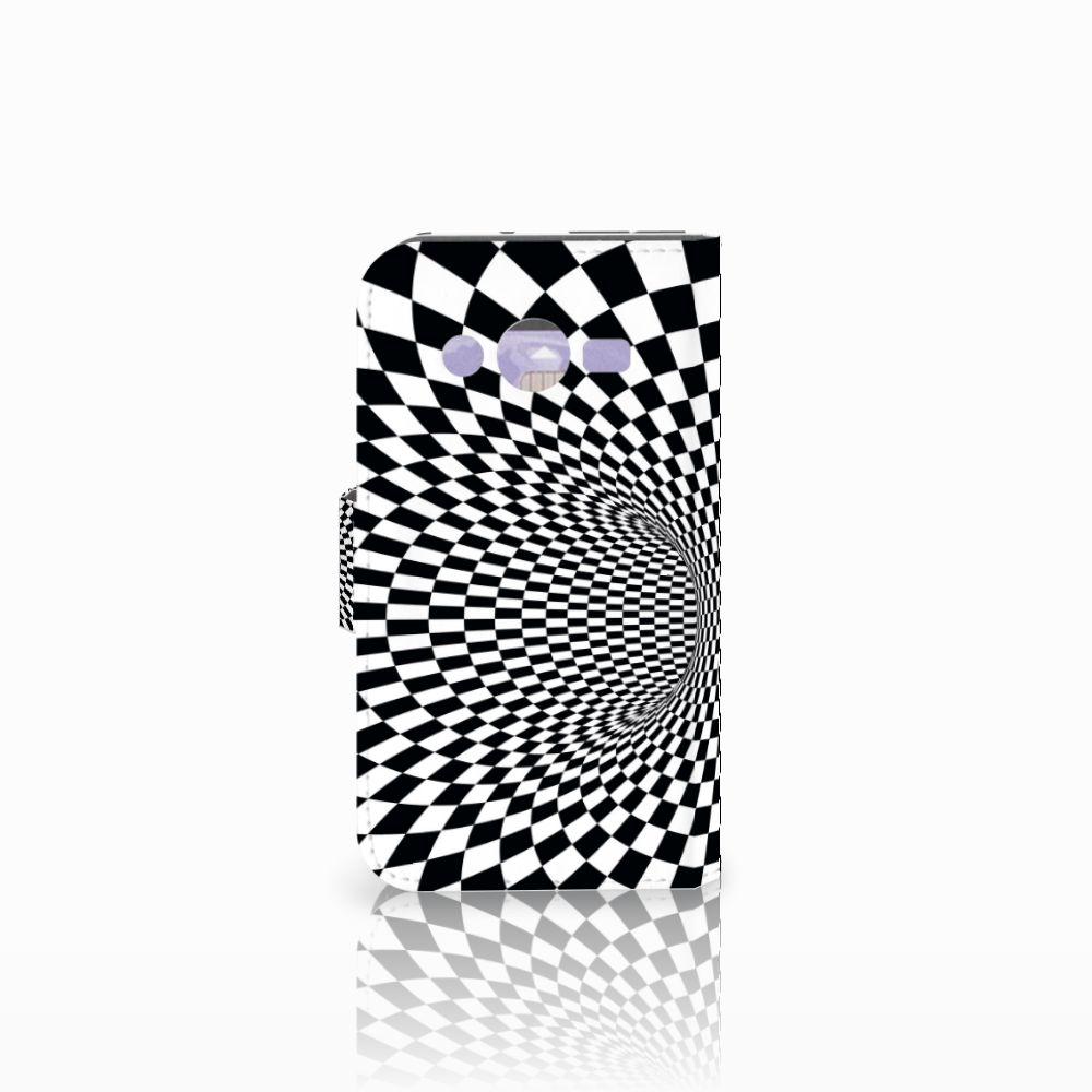 Samsung Galaxy Core 2 Bookcase Illusie