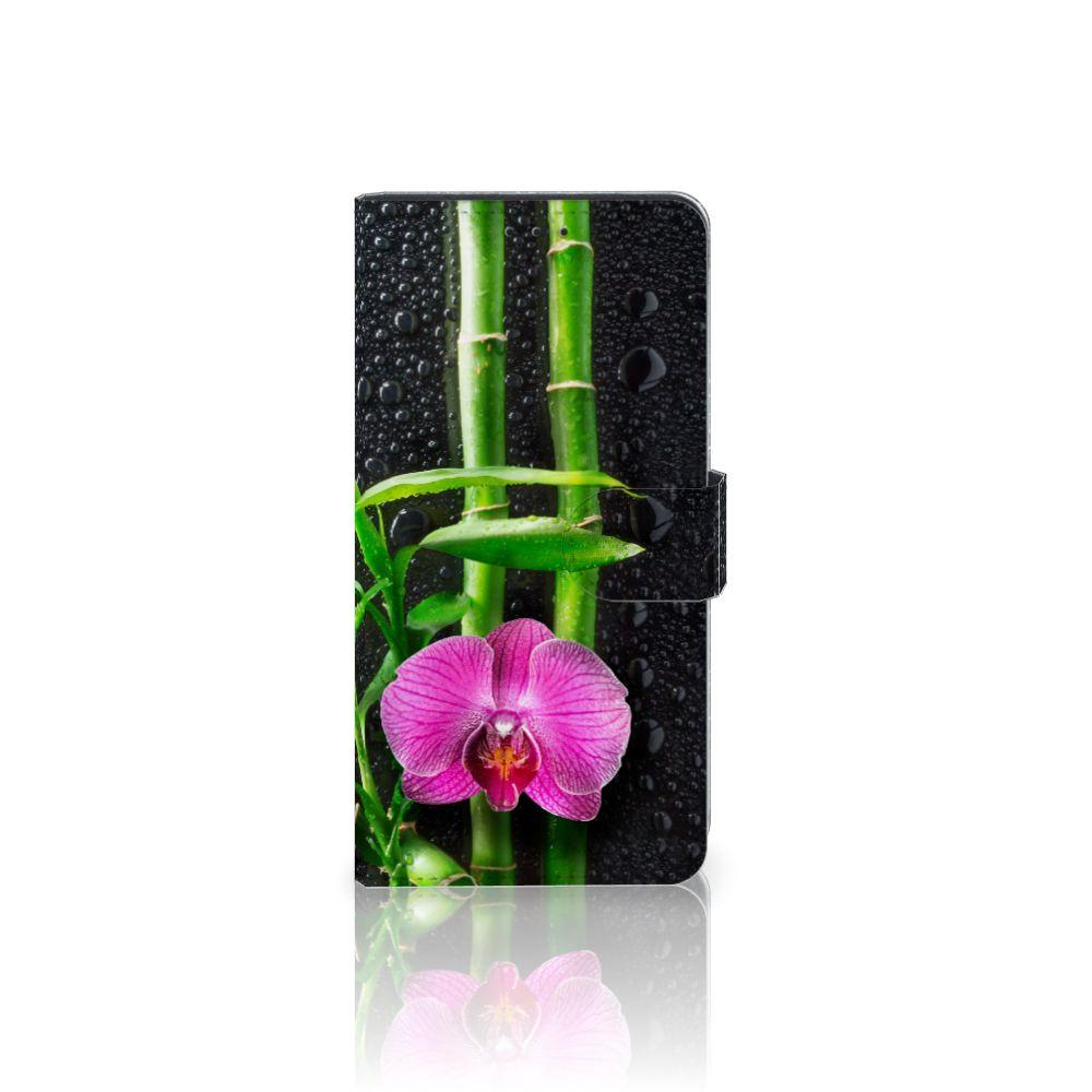 Samsung Galaxy A7 (2018) Boekhoesje Design Orchidee