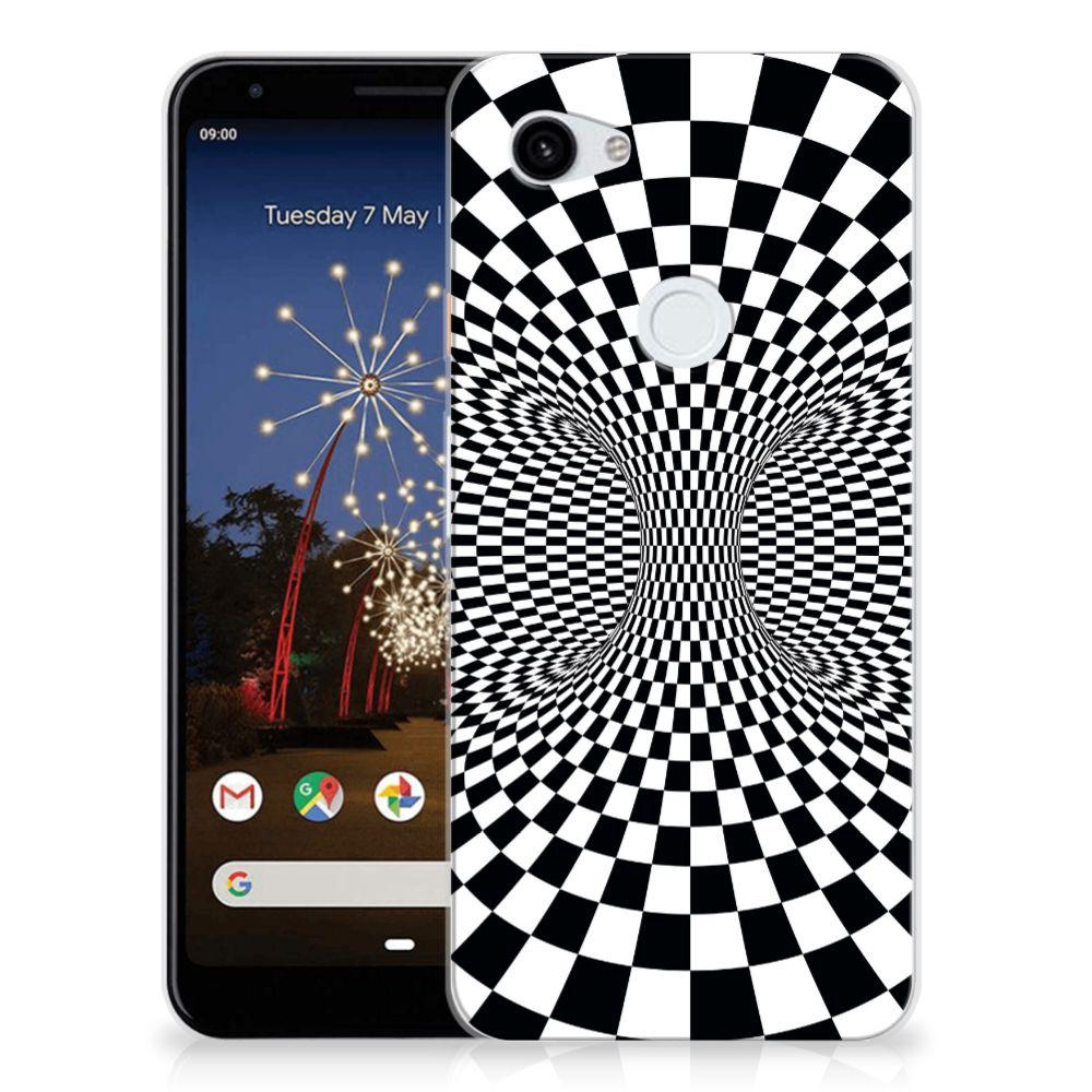 Google Pixel 3A XL TPU Hoesje Illusie