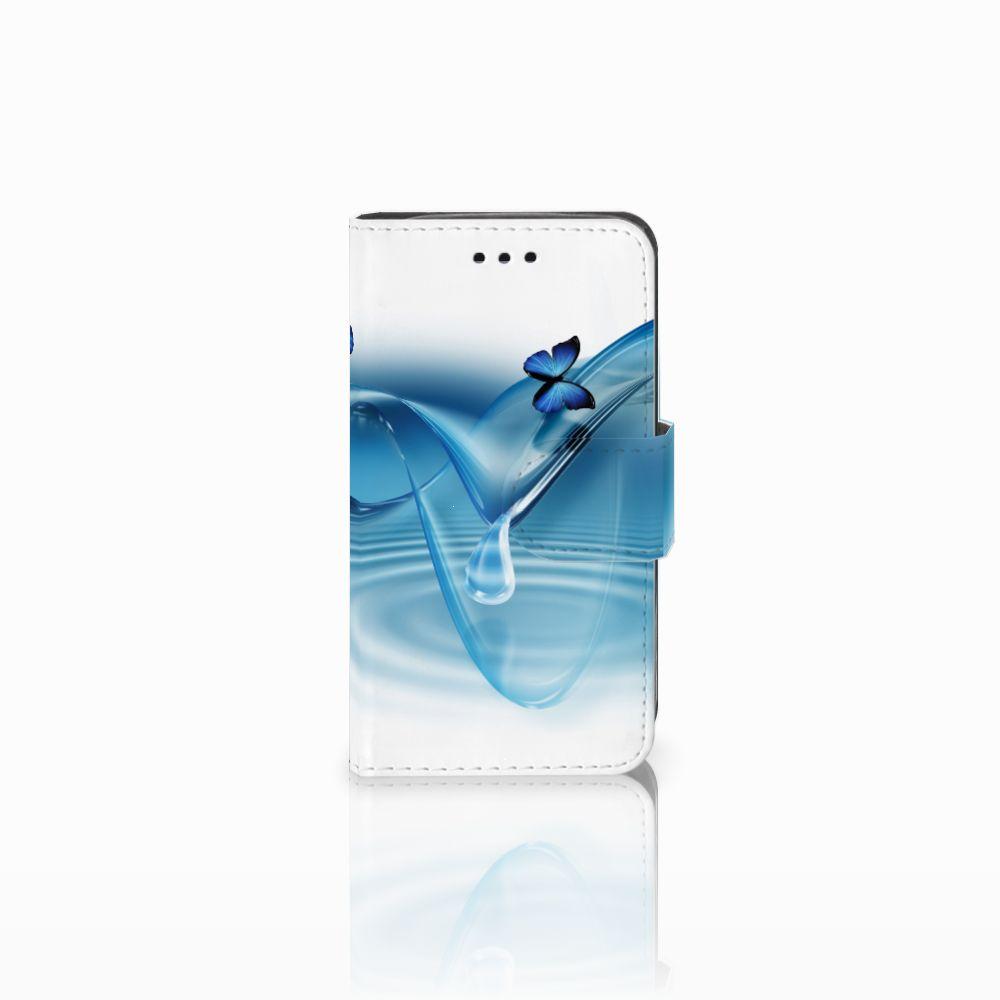 Samsung Galaxy Trend 2 Telefoonhoesje met Pasjes Vlinders