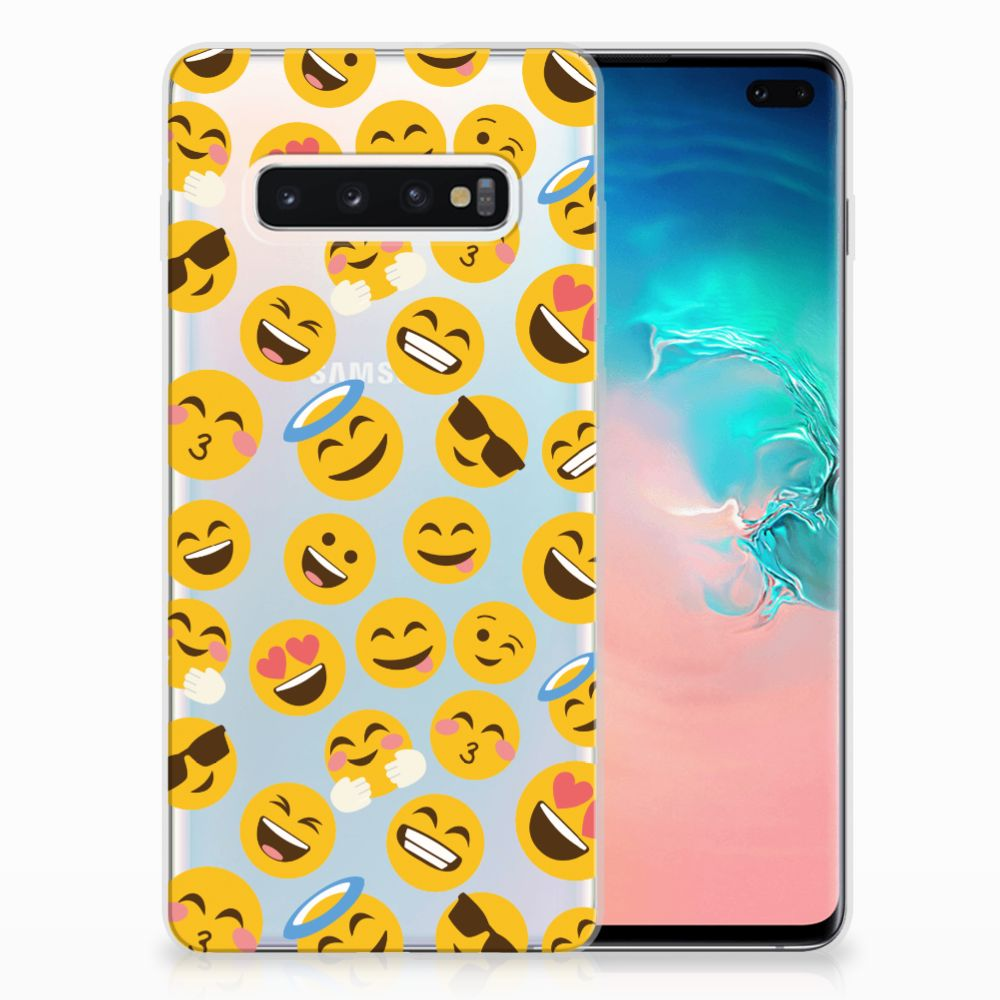 Samsung Galaxy S10 Plus TPU bumper Emoji