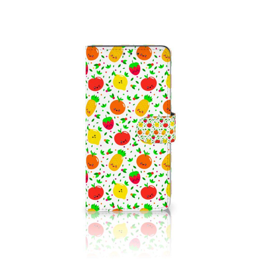Samsung Galaxy A8 Plus (2018) Boekhoesje Design Fruits