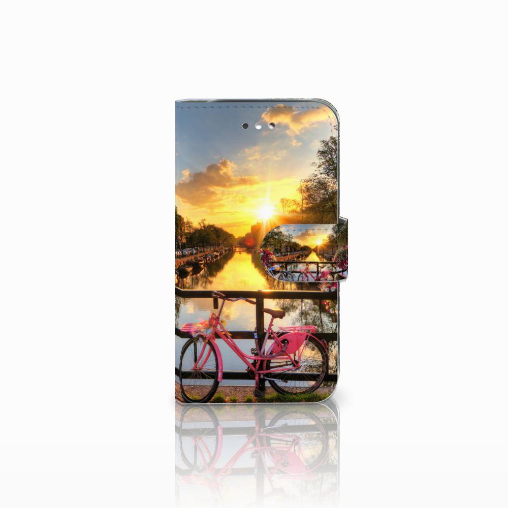 Samsung Galaxy S4 Uniek Boekhoesje Amsterdamse Grachten
