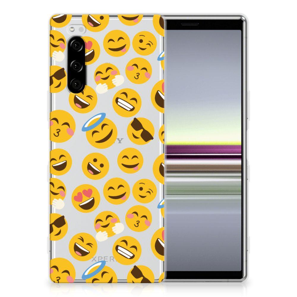Sony Xperia 5 TPU bumper Emoji