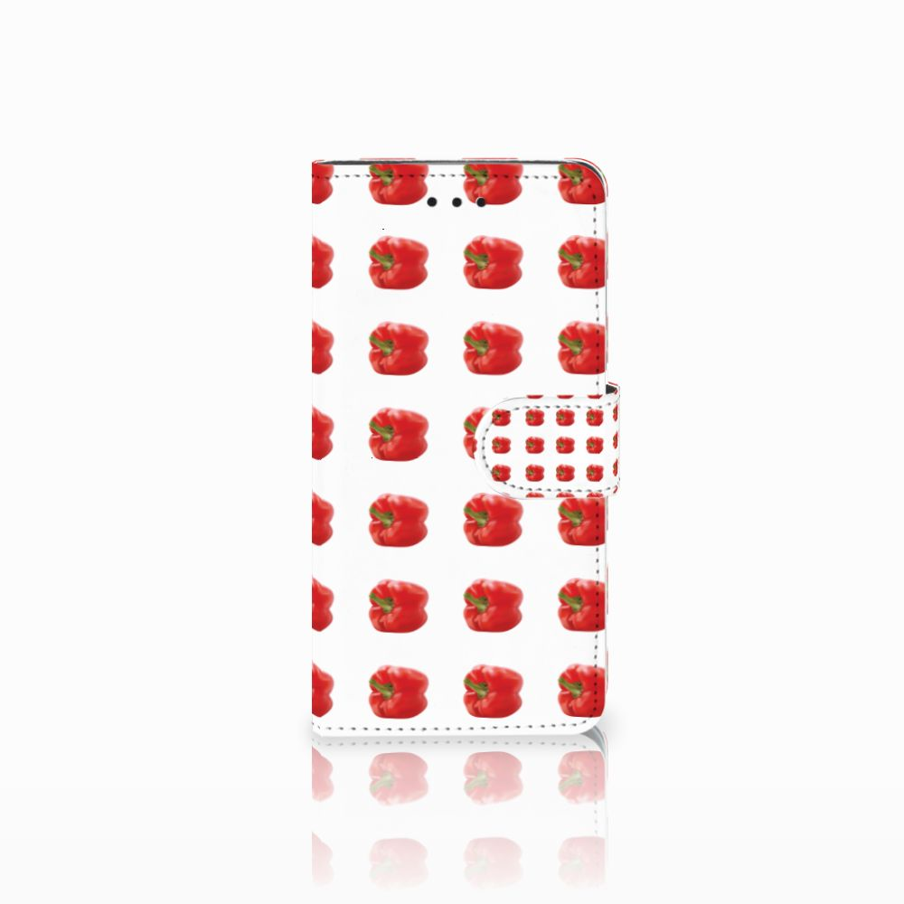 Huawei Y5 2018 Book Cover Paprika Red