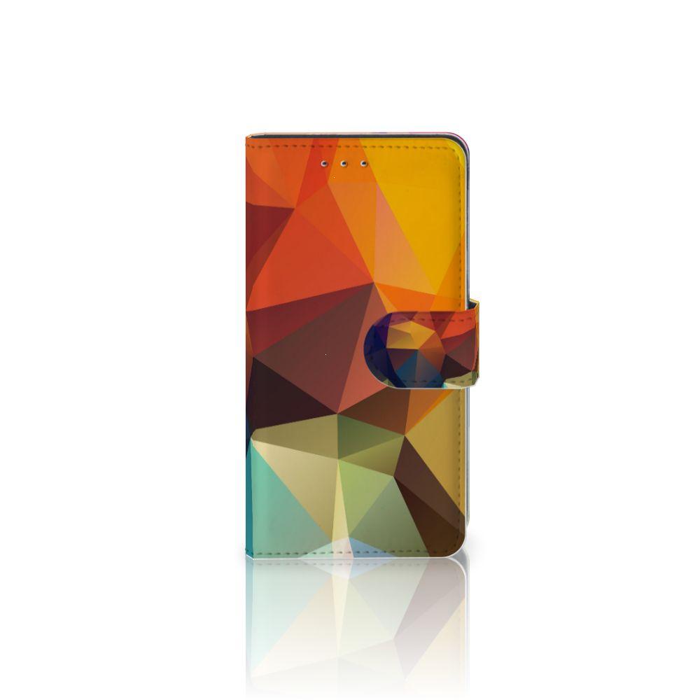Motorola Moto G 3e Generatie Bookcase Polygon Color