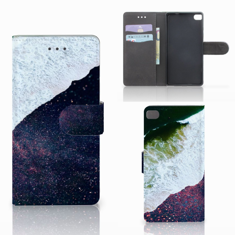 Huawei P8 Bookcase Sea in Space
