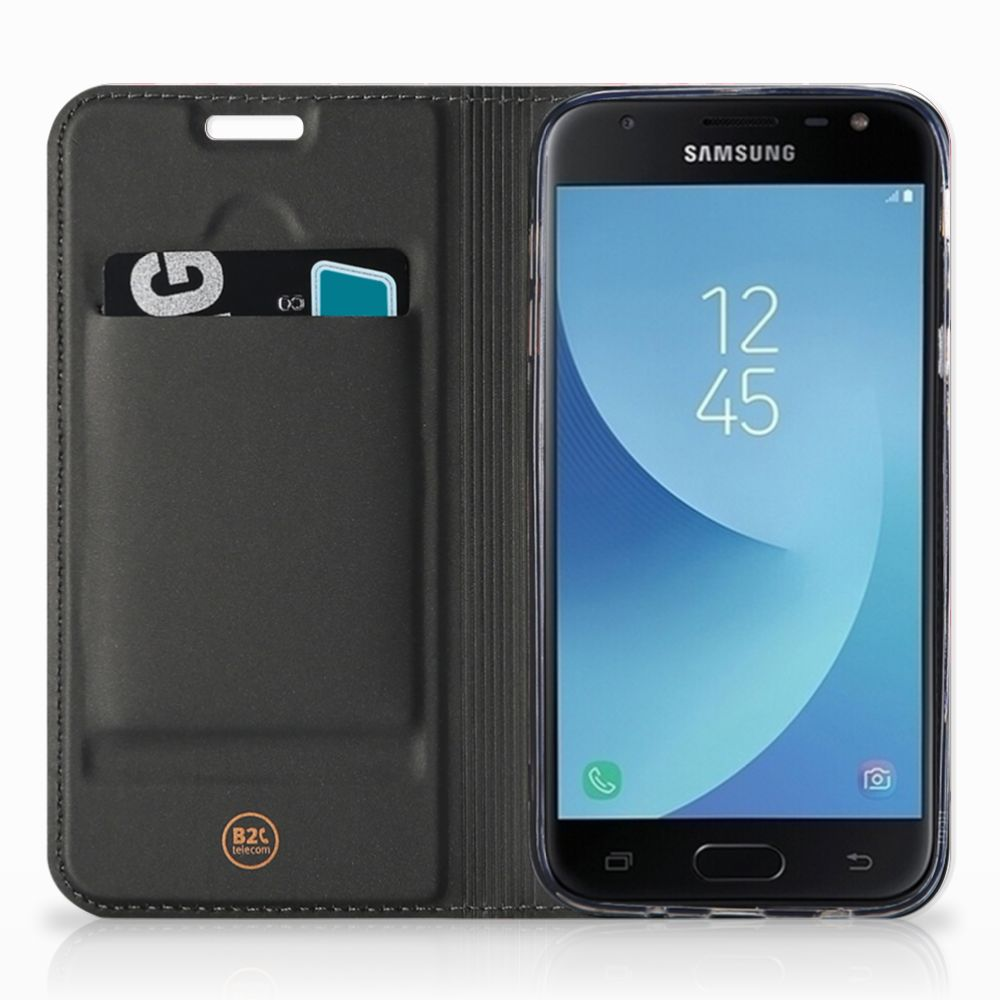 Samsung Galaxy J3 2017 Hoesje maken Flamingo