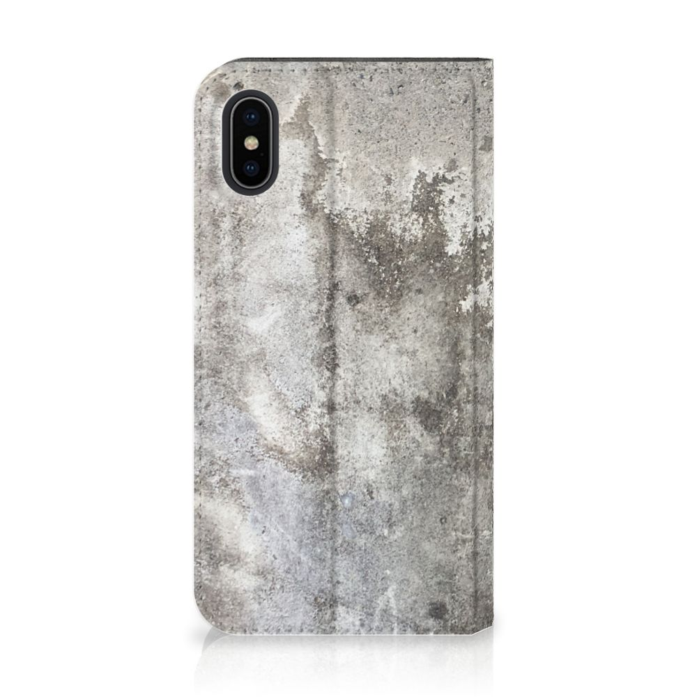 Apple iPhone X | Xs Standcase Beton Print