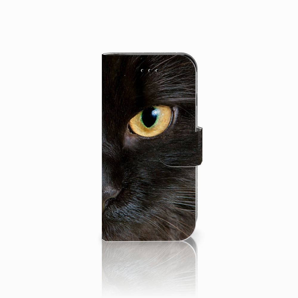 Apple iPhone 6 | 6s Uniek Boekhoesje Zwarte Kat