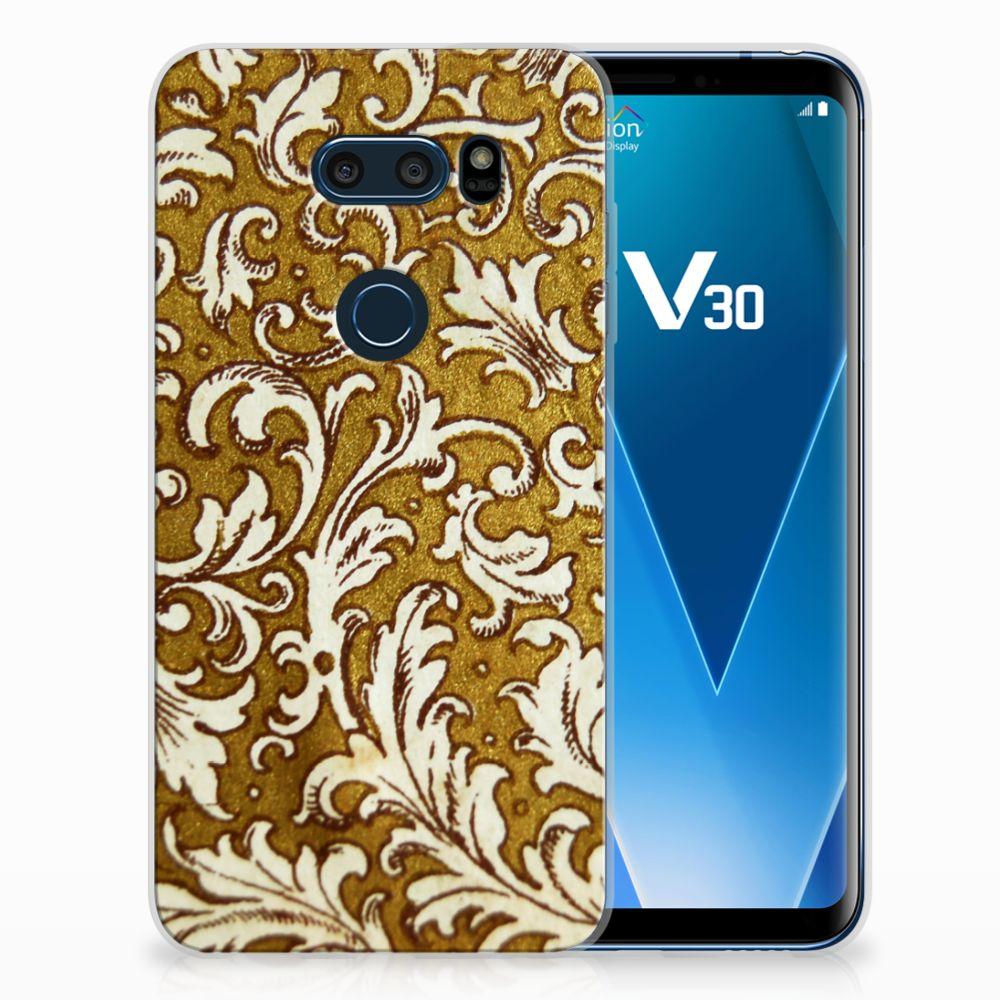 Siliconen Hoesje LG V30 Barok Goud
