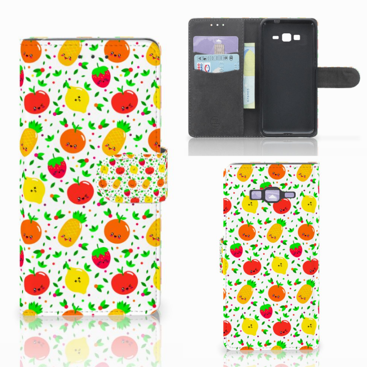 Samsung Galaxy Grand Prime | Grand Prime VE G531F Book Cover Fruits