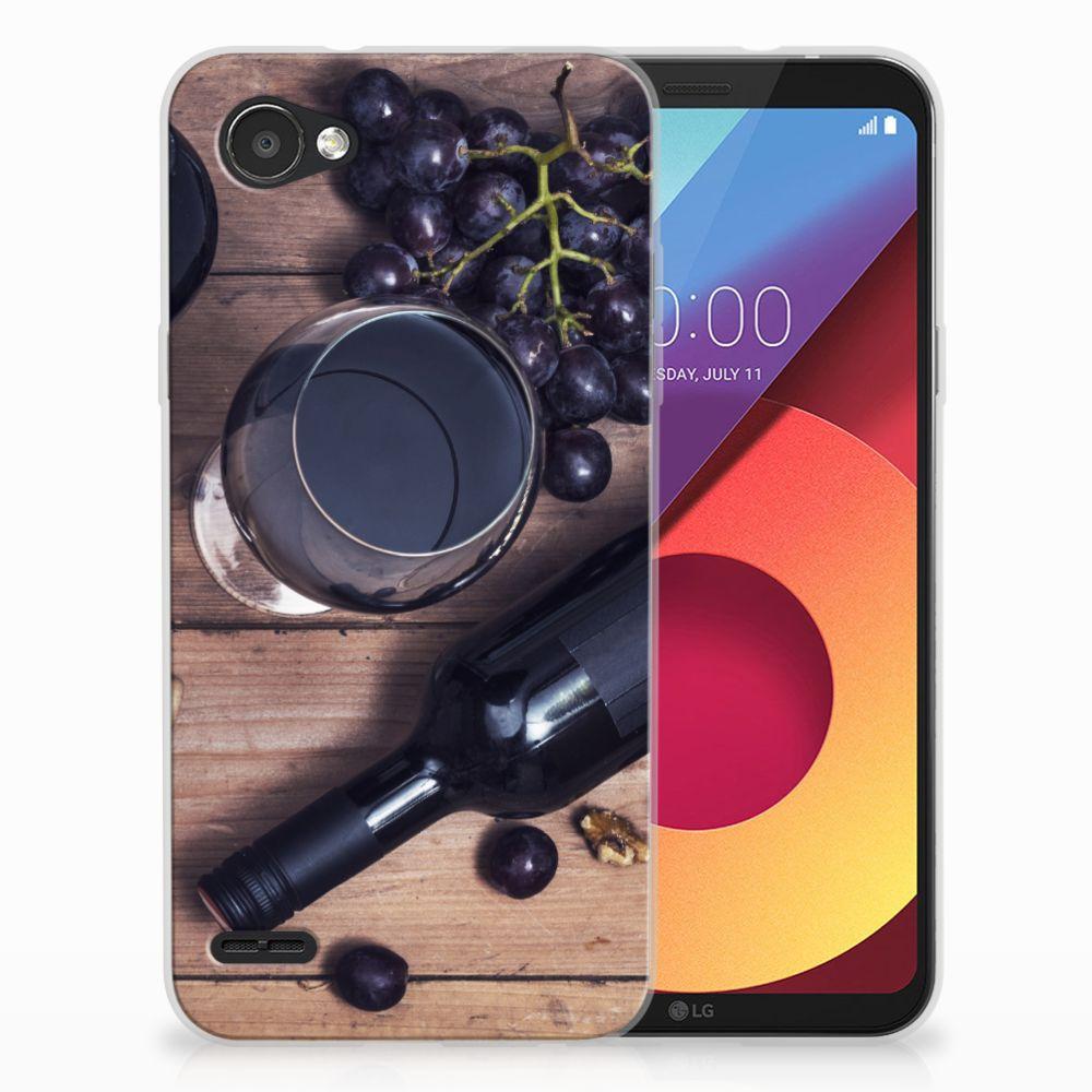 LG Q6 | LG Q6 Plus Siliconen Case Wijn
