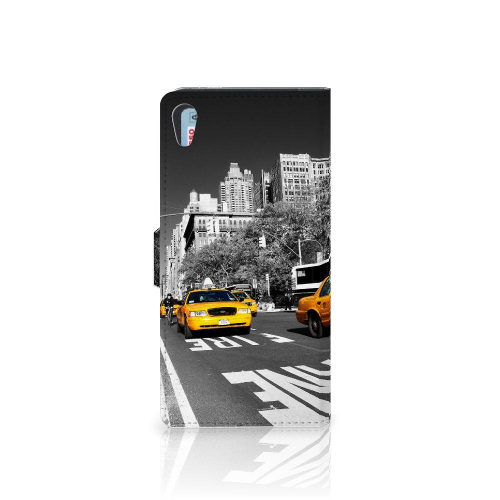 Sony Xperia XA1 Ultra Flip Cover New York Taxi