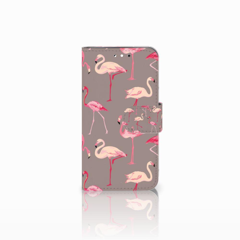LG G3 S Uniek Boekhoesje Flamingo