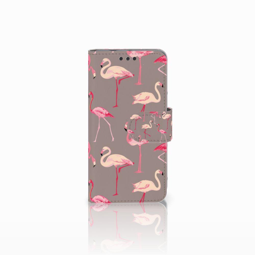 Sony Xperia Z3 Compact Uniek Boekhoesje Flamingo