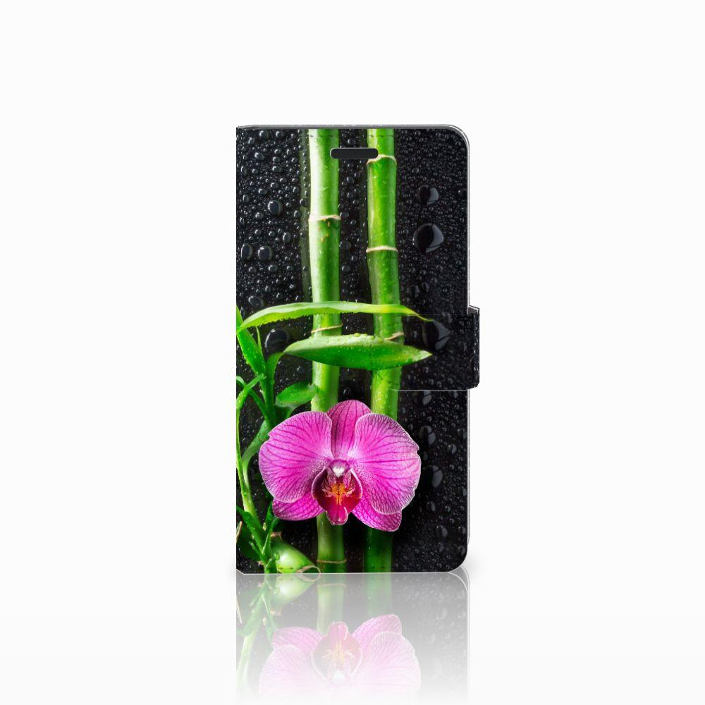 Samsung Galaxy A7 2015 Boekhoesje Design Orchidee