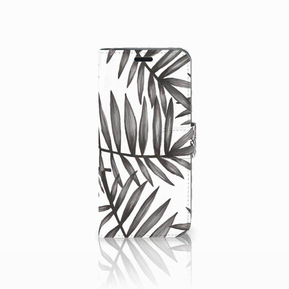 Acer Liquid Z630 | Z630s Uniek Boekhoesje Leaves Grey