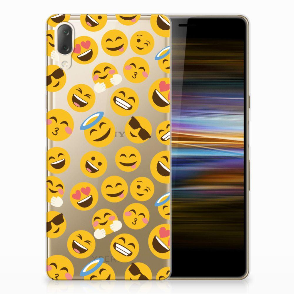 Sony Xperia L3 TPU bumper Emoji