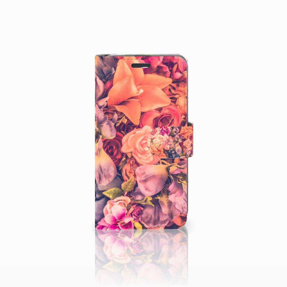 Acer Liquid Z520 Boekhoesje Design Bosje Bloemen