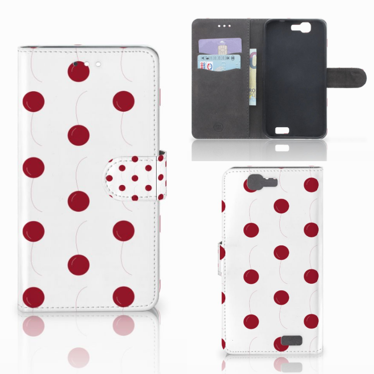 Huawei Ascend G7 Book Cover Cherries
