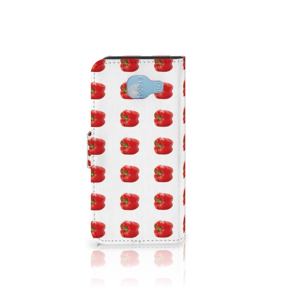 Samsung Galaxy A5 2016 Book Cover Paprika Red