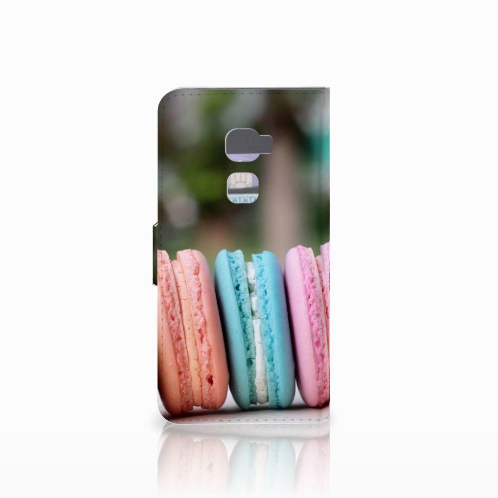 Huawei Mate S Book Cover Macarons