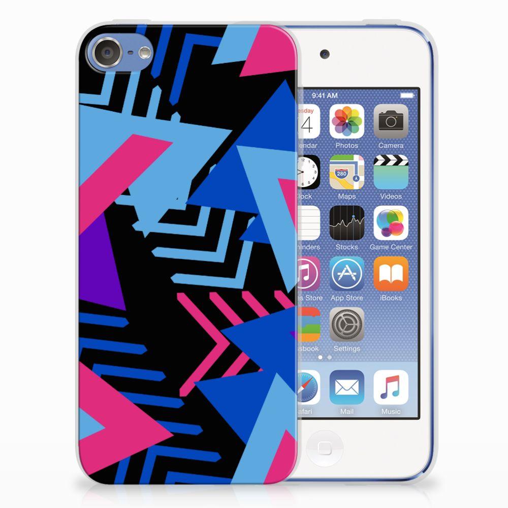 Apple iPod Touch 5 | 6 TPU Hoesje Funky Triangle