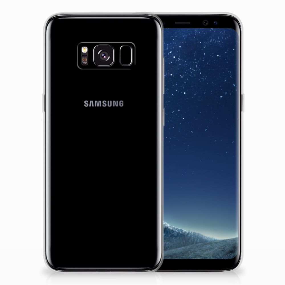 Samsung Galaxy S8 Silicone-hoesje Finger DTMP