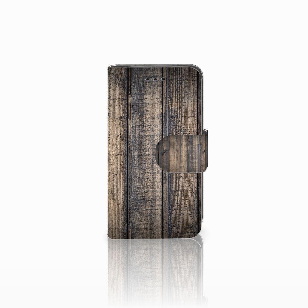 Samsung Galaxy Trend 2 Book Style Case Steigerhout