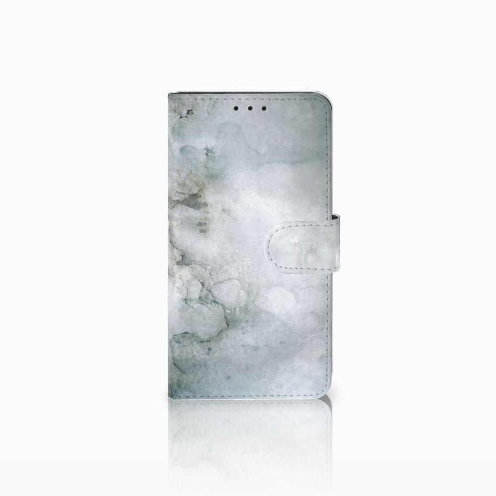 Huawei Honor 6X Uniek Boekhoesje Painting Grey