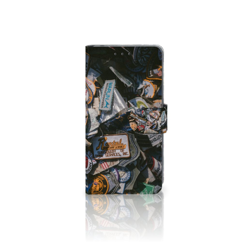 Sony Xperia Z2 Uniek Boekhoesje Badges