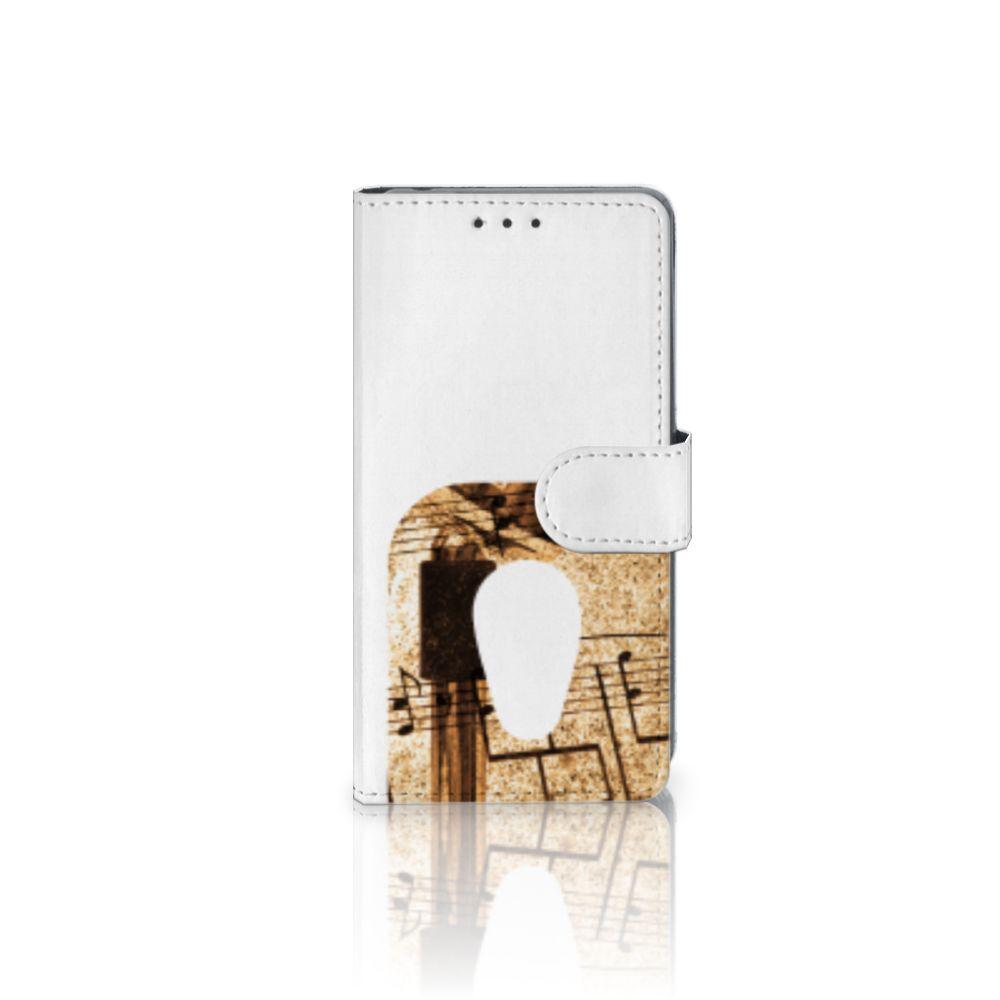 Sony Xperia Z2 Uniek Boekhoesje Bladmuziek