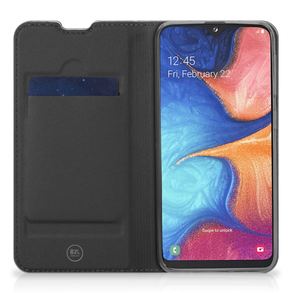 Samsung Galaxy A20e Book Wallet Case Steigerhout
