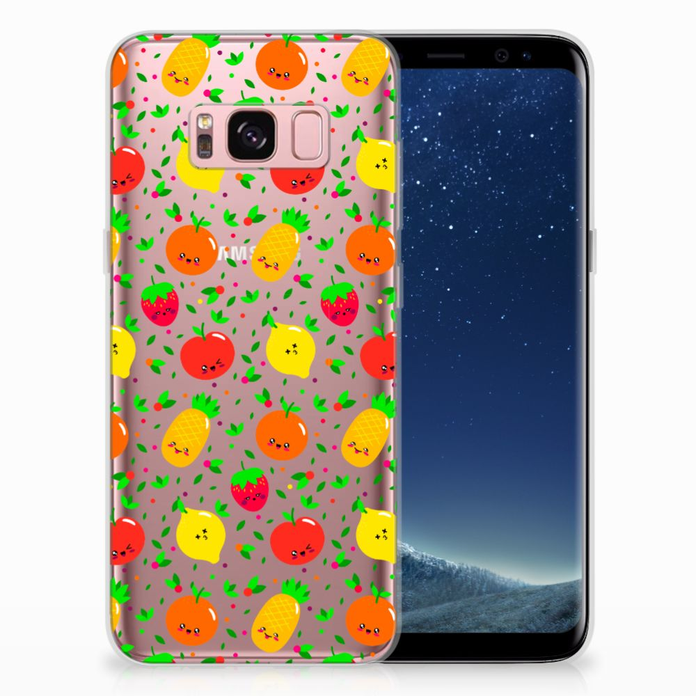 Samsung Galaxy S8 TPU Hoesje Design Fruits