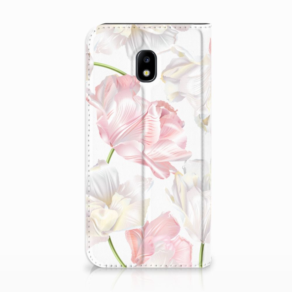 Samsung Galaxy J3 2017 Standcase Hoesje Design Lovely Flowers