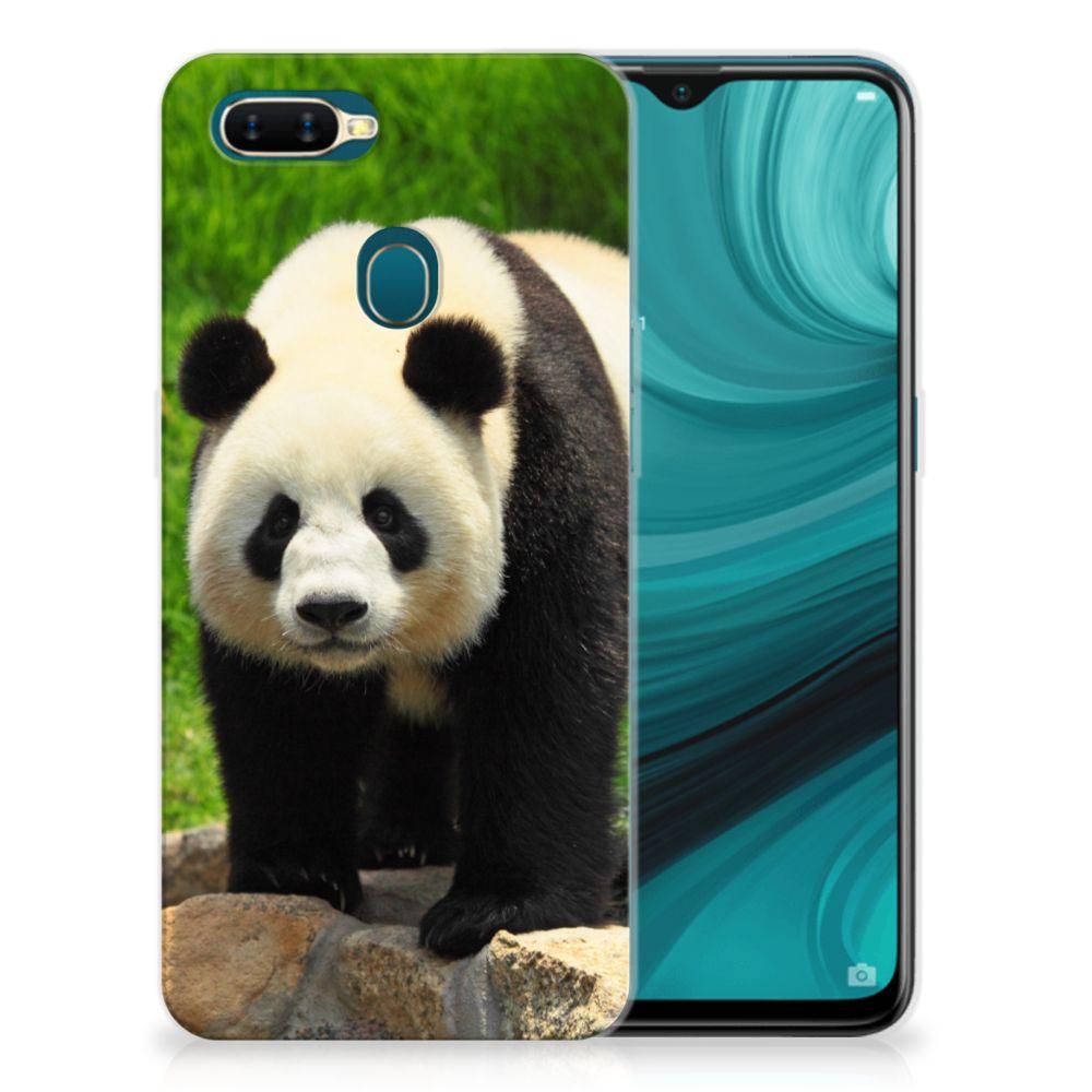 OPPO AX7 TPU Hoesje Panda